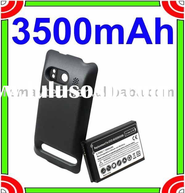 3500mAh Extended Battery + Cover for Sprint HTC EVO 4G