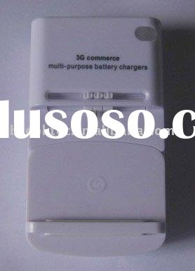 3G commerce multi-purpose battery charger/mobile phone charger/car charger for cellphone,camera and