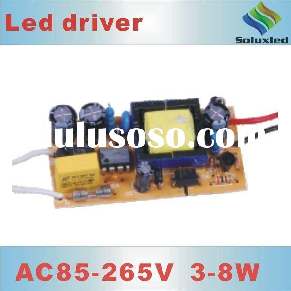 3-8W/6*3W high-power LED driver