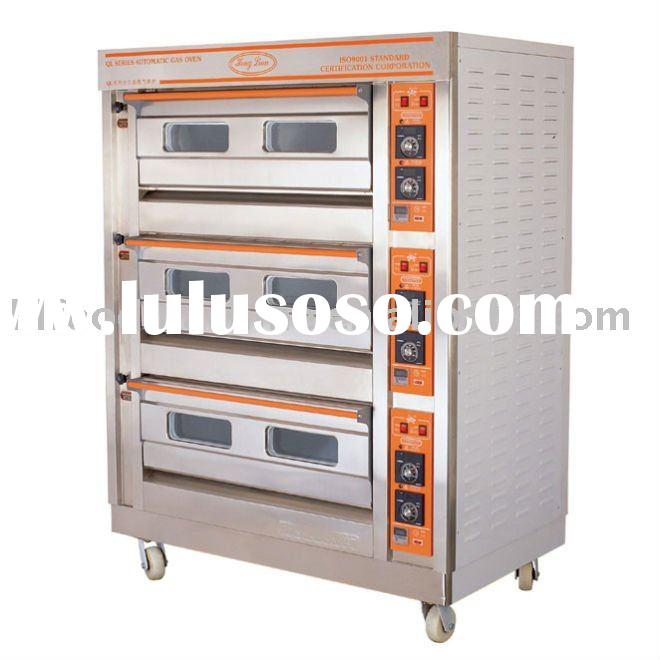 3-deck 6-tray gas oven