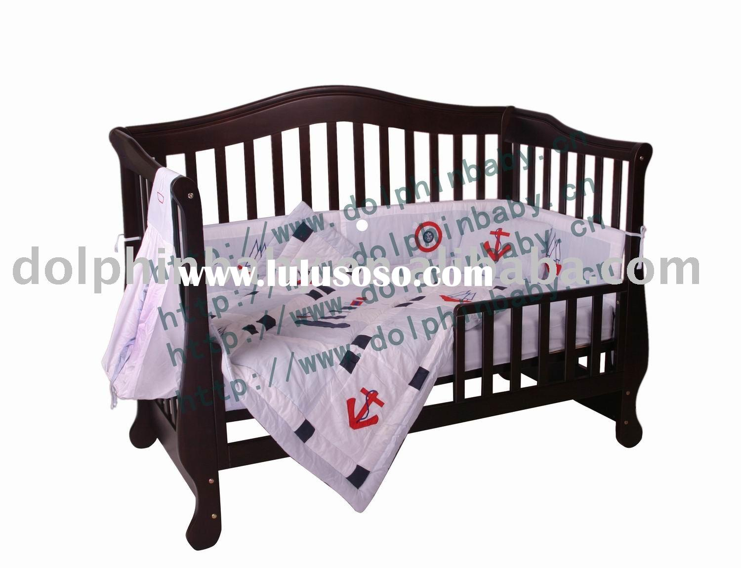 3 in 1 function Baby cot, Wooden Baby Bed,Eco-friendly baby cot bed