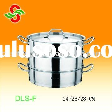 3 tiers stainless steel food steamer