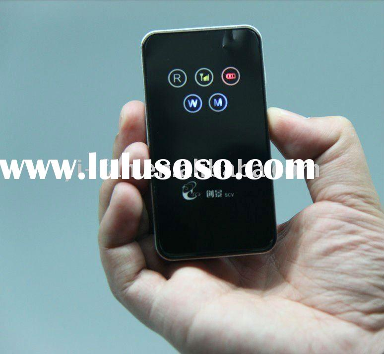 3g wifi mobile router built in battery with sim card slot