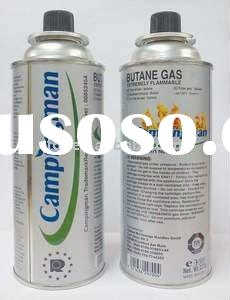 400ml/227g butane gas cartridge for portable gas stove used in china