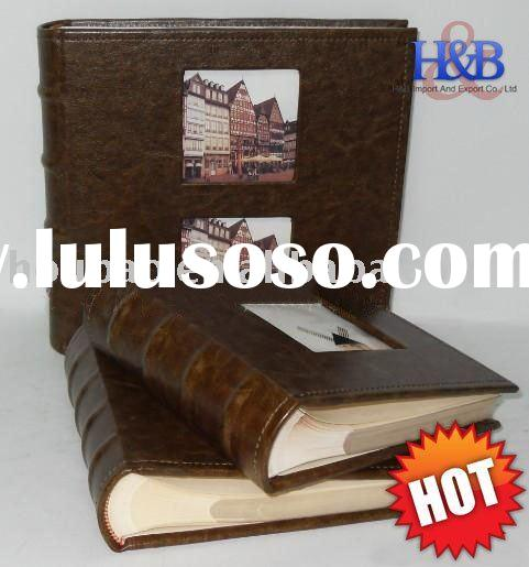 4*6 leather cover photo album