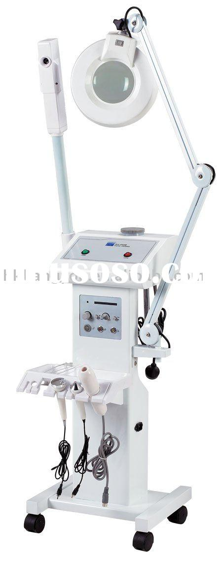 4 in 1 Facial Steamer,Magnifying Lamp,high-frequenc,ultrasonic,Beauty equipment GFRU-909D