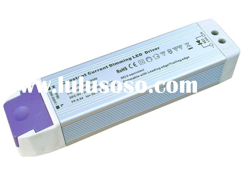 50W constant current triac dimmable led driver with high power factor 0.95