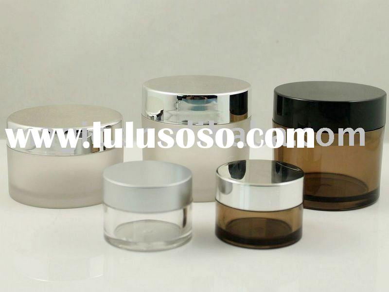 5ml 50ml 80ml Clear PETG Cosmetic Jars