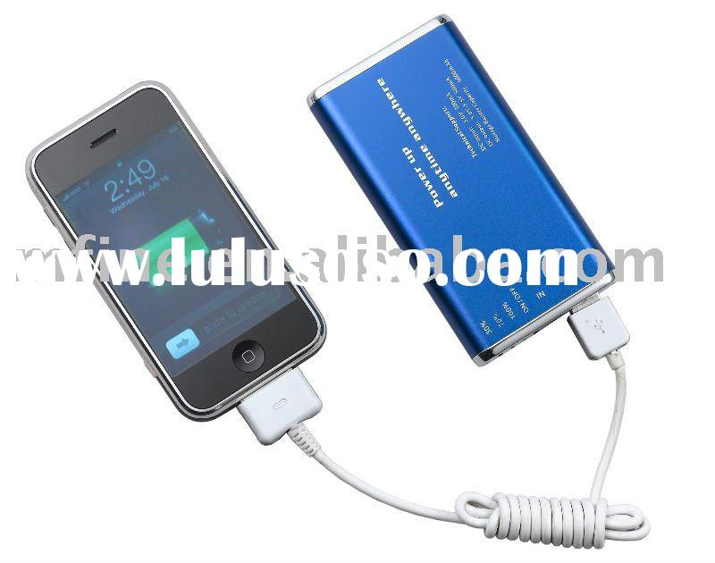 6000 mAh Backup Battery Charger Power Station For iPod iPhone 3G