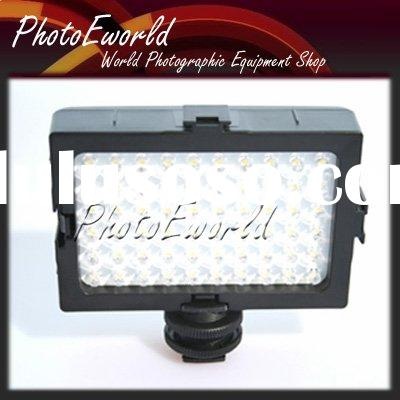 60 LED Photo Video light for Canon Nikon Hot Shoe Camera