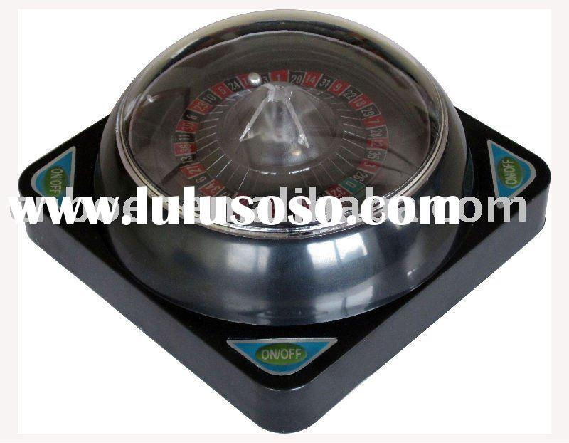6'' Automatic Black Electronic Roulette Wheel Set