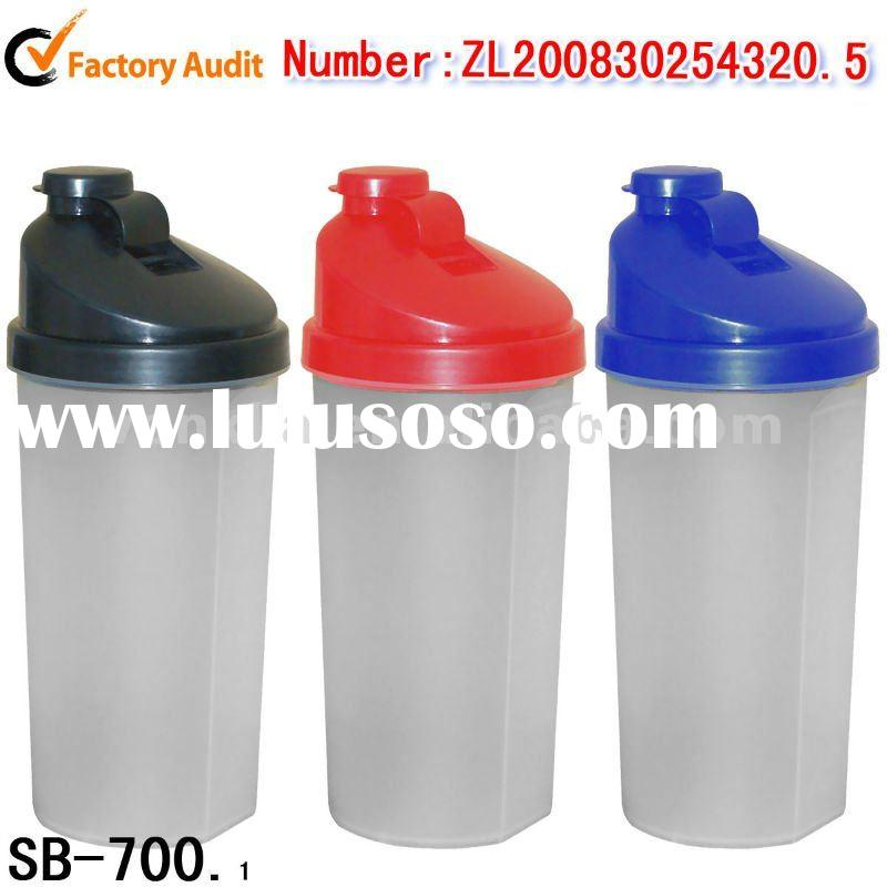 750ml Plastic Shaker Bottle BPA free (SB-700)