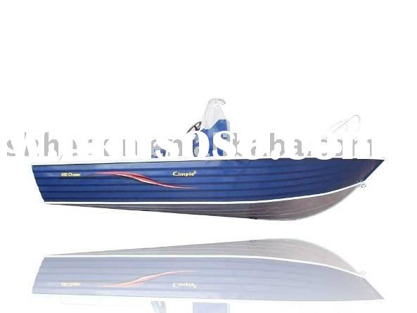 AB-490CC aluminum boat with center console/Fishing Boat/Sport Vessel