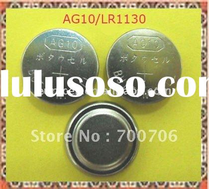 AG10 LR54 1.5v alkaline button cell battery LR54 AG10 1.5v alkaline coin cell battery