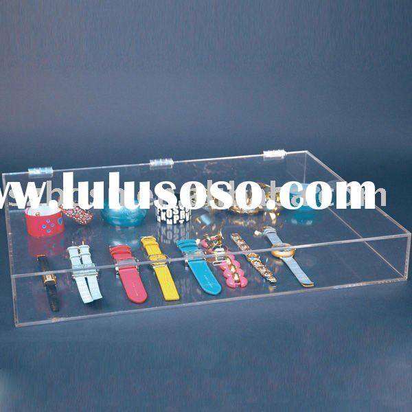 Acrylic Jewelry Box,Perspex Ornaments Display,Plexiglass Jewelry Stand
