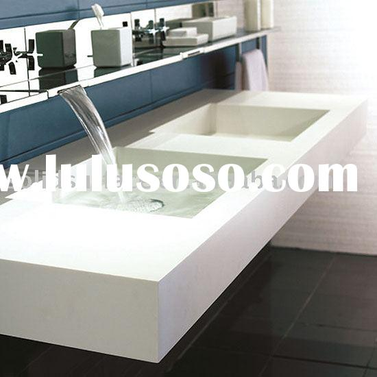 Acrylic solid surface vanity top