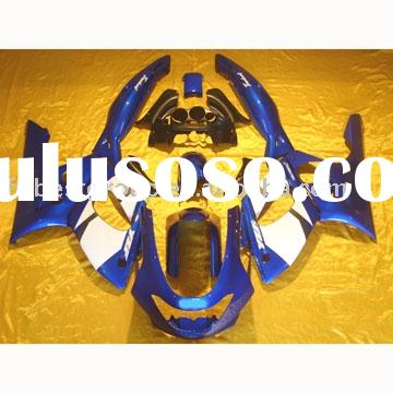 Aftermarket complete set motorcycle fairings kit for YZF-R6 99-02 GO!!!