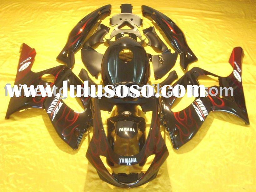 Aftermarket motorcycle fairings kit for YZF600 YZF 600R 1997 1998 1999 2000 2001 2002 2003 2004 2005