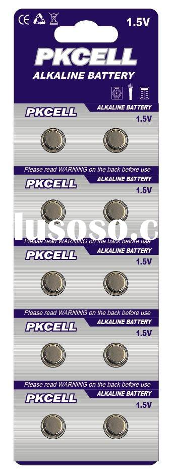Alkaline button Cell battery