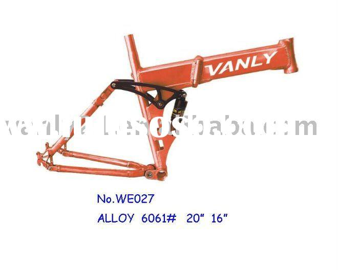 Aluminum Electric Bicycle Frame