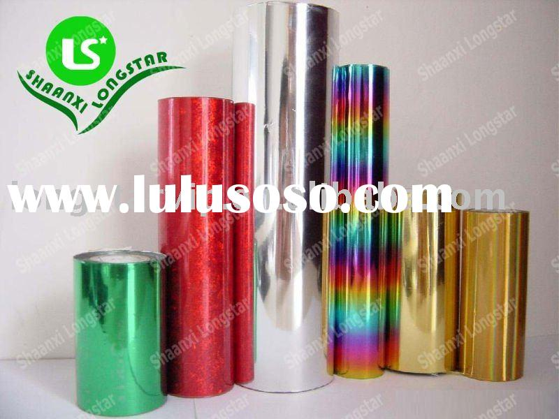 Aluminum foil + PET film + Heat-Sealable Adhesive+holographic film