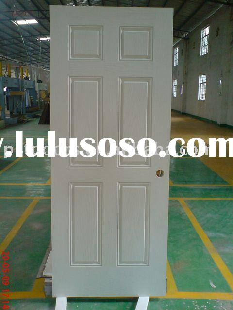 "American Style Metal Door Factory in Guangzhou of China(36""80""size,galvanized steel panel)"