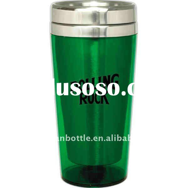 Apple Green - Acrylic - Classic tumbler with translucent acrylic exterior with 18/8 stainless steel