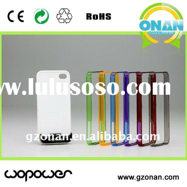 Apple's iphone 3G/3GS/4/4S solar charger case