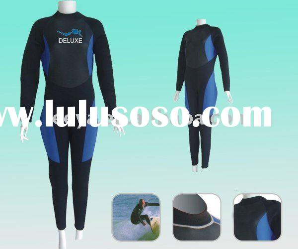 Aquatic sports Women Diving Wetsuits ws03