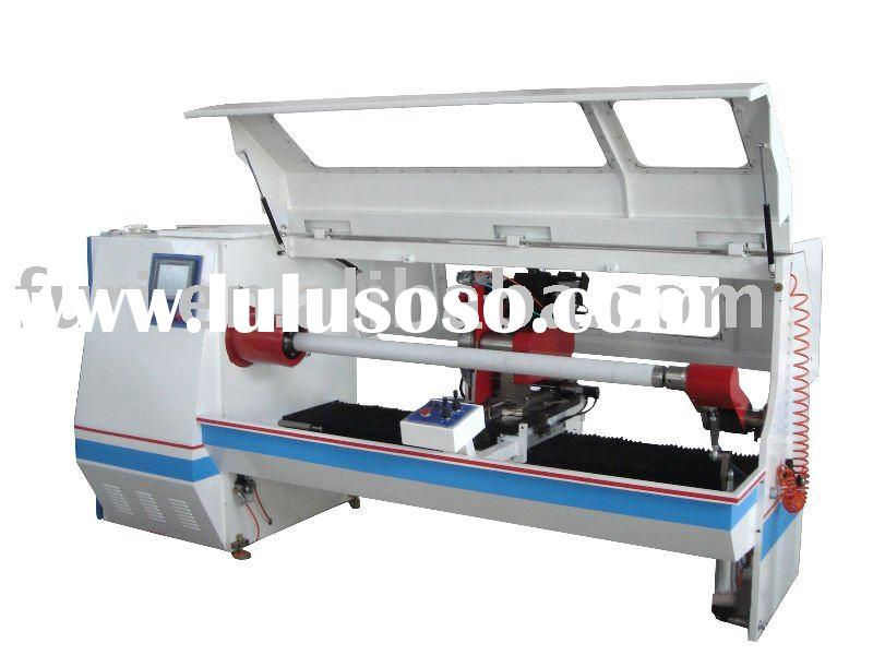 Auto Cutting Machine for Stretch Film, PVC Rolls, BOPP