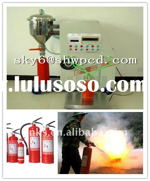 Automatic Fire Extinguisher Dry Chemical Powder Filling Machine /extinguisher refilling machine/ Dry