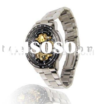 Automatic Men's Mechanical Steel Band Watch with Tachymeter 98226G
