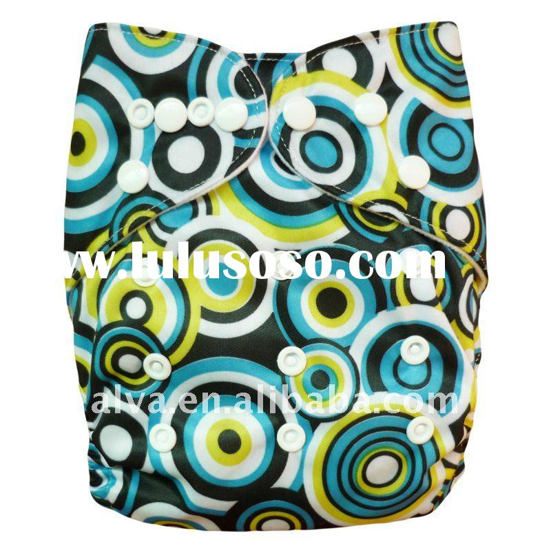 Baby Cloth Diapers Washable, One Size Fashion Baby Cloth Diaper