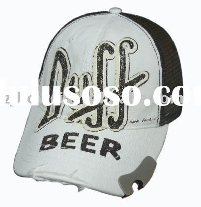 Baseball Cap Bottle Opener/hat bottle opener