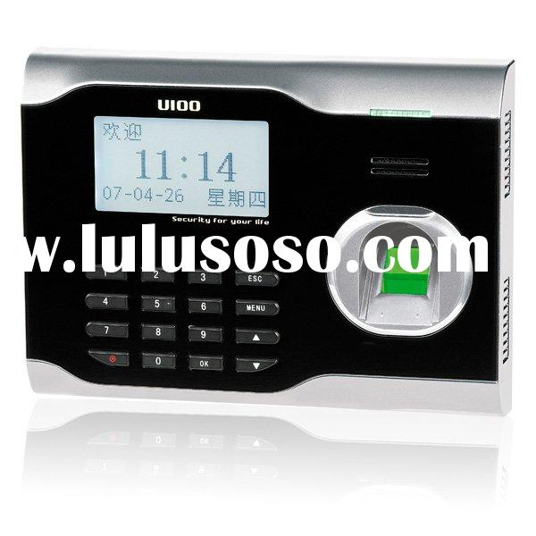 Biometric time attendance machine with USB
