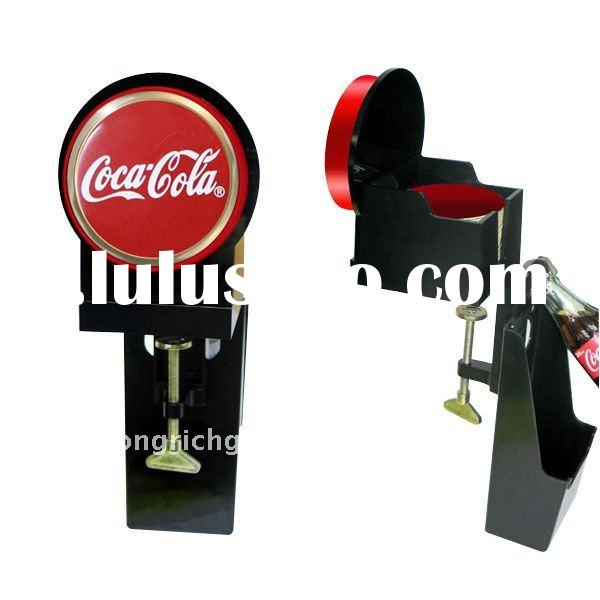Bottle Opener with cap catcher and coaster holder
