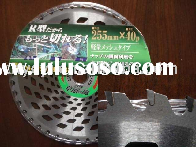 Brush cutter blade for cutting grass for brush cutter and grass cutter