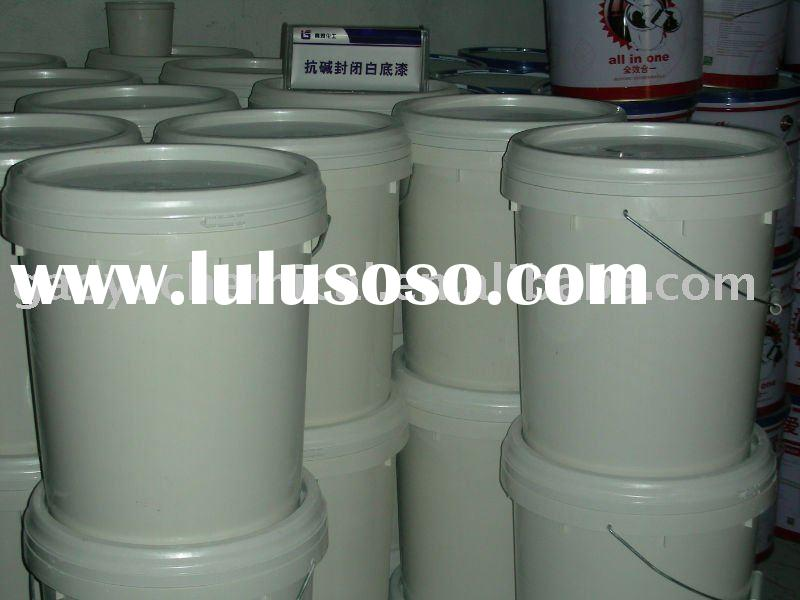 Building Paint, Latex coating, anti-Alkali closed primer (white, Transparent)