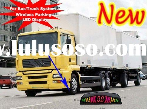 Bus TRUCK parking sensor/Wireless truck parking sensor with LCD display