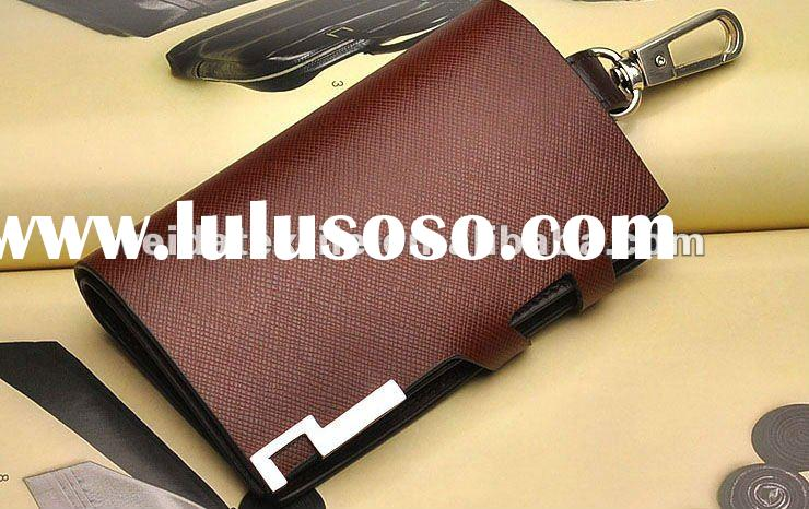 Business Men automotive leather wallet multifunction key cases card bag man wallet