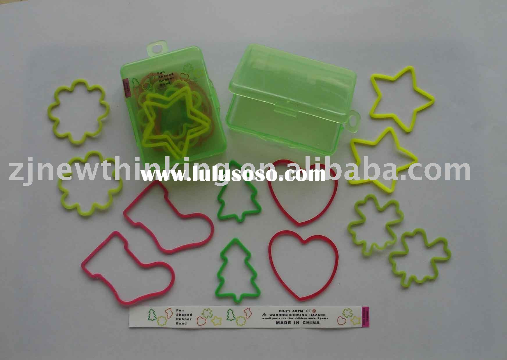 Car silicone rubber band