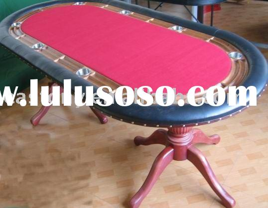Casino poker chip table