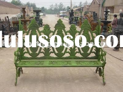 Cast Iron Garden Bench&cast iron chair