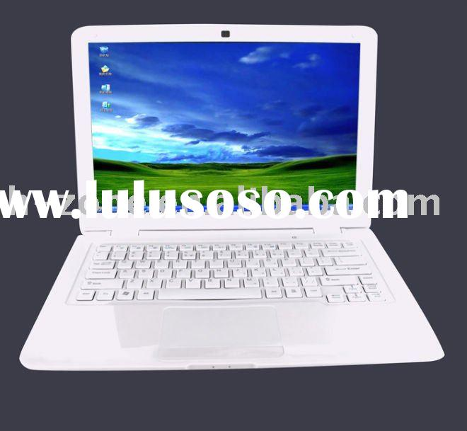 Cheap price 13.3 inch laptop wifi laptop notebook,laptop13.3 with Intel Atom N455 1.66Ghz processor,