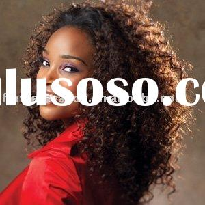 Cheap price curly 100% human hair wig for black women