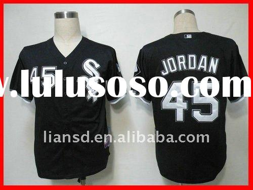 Chicago White Sox Jordan Danks 45 black Jersey throwback jersey authentic jersey