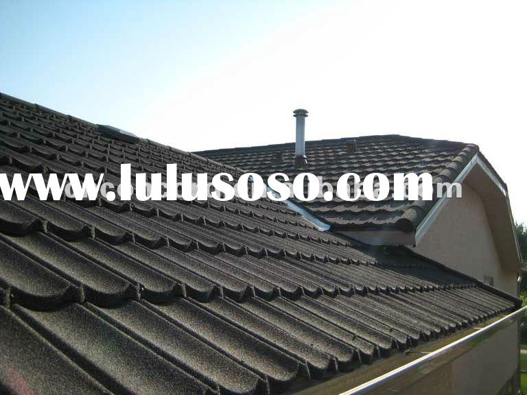 Classic style&stone coated roof tile