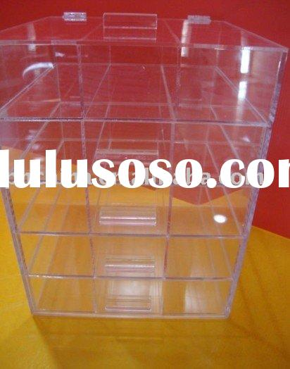 Clear Acrylic Jewelry Display Case,Acrylic Jewelry Box,Acrylic Organizer Display