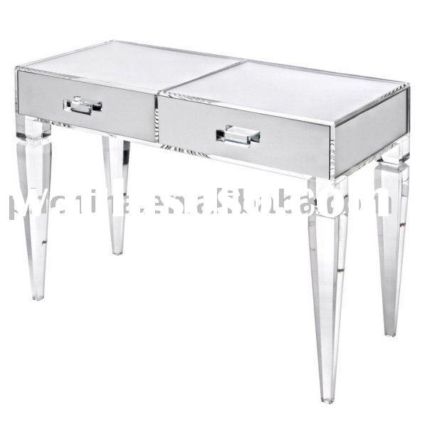clear makeup vanity table. clear acrylic king george vanity table;clear vanity;clear lucite table;organic makeup table f