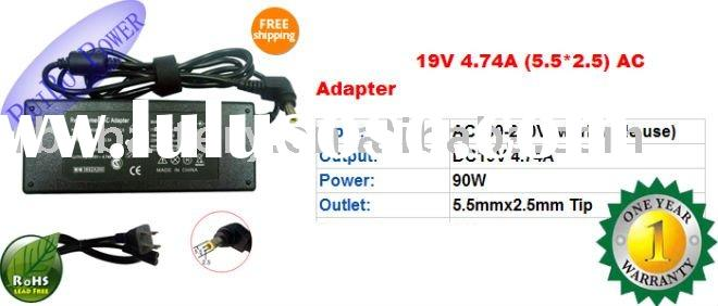 Compatible Toshiba Laptop AC Adapter 19v 4.74A